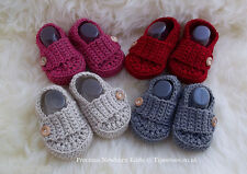 New Knitted Crocheted Baby Booties, Loafers, Shoes, Slippers for Boys & Girls