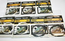 Airflo 10ft Trout Leaders - 7 Variations available