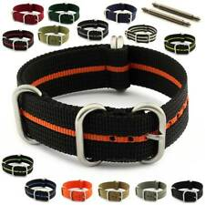 Nato Zulu Military Watch Strap Band Strong Heavy Duty Nylon Divers G10 Resin