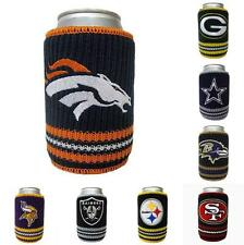 NFL Football Woolie Can Drink Holder - Team Logo - Pick your team!