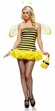 Sexy Womens Honey Bee Fancy Dress Party Costume