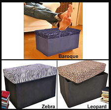 Collapsible Storage Ottomans, Rectangle Shape ( Item #29-530 )