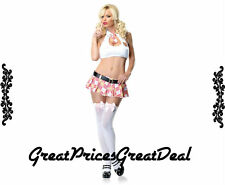 Sexy School Leg Avenue 53088 3Pc Extra Credit Cutie Sexy Holiday Party Costume