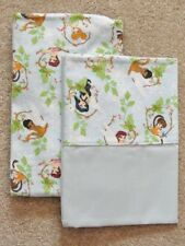 CRIB/TODDLER SHEET 2PC SET/FLANNEL - TINKER BELL & FRIENDS IN FLANNEL PRINTS