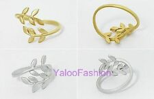 Free Shipping Loyal Love Tree Branch Leaves Fashion Jewelry Rings
