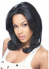 SUNNY BY MODEL MODEL SYNTHETIC HAIR LACE FRONT WIG MEDIUM LENGTH STRAIGHT STYLE