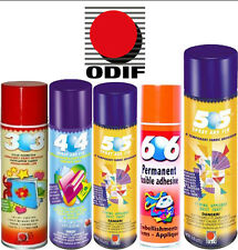 ODIF Branded Fabric Adhesive Glue Spray Can Arts & Crafts Temporary / Permanent