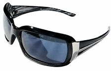 Smoke Square Lens Black Frame Sunglasses Mens Women Fashion Retro Designer UV400