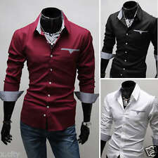 Hot Sale! 2014 Collection Stylish Mens Casual Formal Slim-Fit Polo T-Shirt-ESS