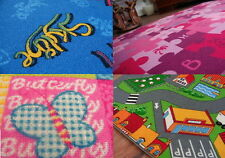 BEST PRICE! CHILDREN RUGS / CARPET 9 PATTERN ! CARPETS IN ALL SIZES !
