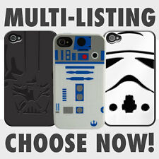Star Wars Official iPhone 4 4S silicone cases R2-D2 Stormtrooper and Darth Vader