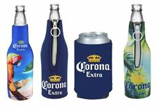 Corona Beer Bottle and Can Koozies - Insulated Neoprene Holders- Assorted Styles