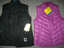 UNDER ARMOUR Women's COLD GEAR Zip-Up Vest, NWT, MSRP-$124.99-$129.99