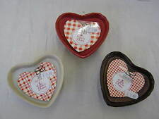 THE STRAITS LES DELICES D'ANTAN SCENTED HEART SHAPED CANDLE  (3 ASST) ITEM: 5131