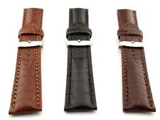 Genuine Crocodile Leather Watch Band Strap Mississippi 18mm 20mm 22mm 24mm - MM