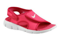 Toddler Girls NIKE SUNRAY ADJUST 4 Spark/White/Voltage Cherry Sandals BNIB