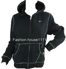 New NIKE Black Zip Womans Hoody Size XS, L, XL