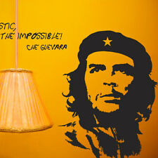 M22 Che Guevara with Saying - Wall Art Decor Stickers Vinyl Decals+Tracking No.