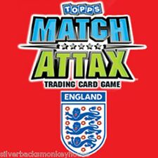 Topps Match Attax England 2010 Limited edition and 100 Club Card (s). FREE P&P