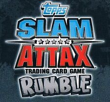 WWE Slam Attax TCG Rumble Choose One Title Card from List