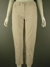 BNWT KALIKO THREE QUARTER LENGTH CREAM COLOURED 'CAPRI' JEANS SIZES 8-20-RRP £47