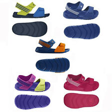 NEW ADIDAS LITTLE INFANT KIDS TODDLERS VELCRO STRAP SANDALS BOYS GIRLS  3 - 9.5