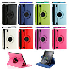 "Leather 360 Degree Rotating Stand Case Cover for Amazon Kindle Fire HD 7"" 2012"