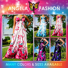 Angela New Evening Summer Maternity Women Long Maxi Dress Size Sz M-XXXL 6-20 US