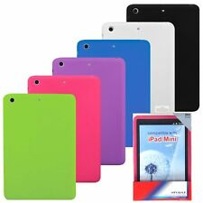 Multi-Color Silicone Gel Soft Skin Case Cover For Apple iPad Mini New Tablet