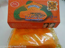 Asantee Papaya Honey Skin Whitening Lightening Herbal Soap - fair and acne free