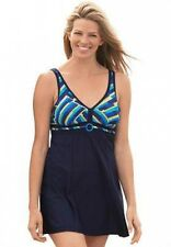 7693   PLUS SIZE 1 Pc Multi Color Swimsuit Assorted Sizes Available