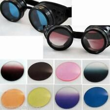 Choose Ur Color Cyberpunk Steampunk Replacement Lenses for Goggles 50mm 2 inch