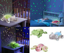 SLUMBER BUDDIES NIGHT LIGHT PROJECTOR BABY/NURSERY FROG/BUTTERFLY SUMMER INFANT
