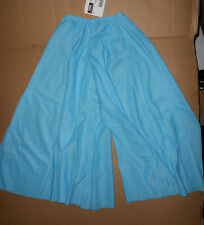 NWT PRAISE LITURGICAL DANCE Palazzo Pants Lt blue child Sizes Praisewear crepe