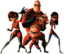 The Incredibles Family T shirt Iron on Transfer 8x10 or 5x7 light fabric