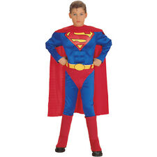 Classic Superman Deluxe Muscle Child Costume Rubies 882626