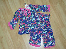 NWT Baby Nay Butterfly Garden Serena Cha Cha Top + Pants 12 18 24 2T 3T 3 4T 4