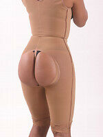 SLENDER 1432 GIRDLE WITH BUTT LIFT DOWN TO THE KNEE/CAPRI LEVANTA COLA