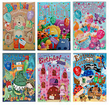 Birthday Calendar Countdown Cards ~ Children/Kids ~ Boy/Girl ~ Fun/Novelty Card
