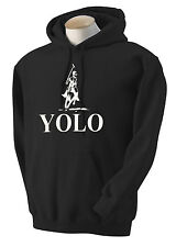 Y.O.L.O POLO~You Only Live Once HOODIE~SWEATSHIRT~THE DRAKE~JERSEY-TV~OVO~XO~NEW