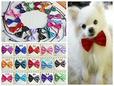 "Cute Pet Dog Cat bow-tie bow Necktie clothes collar 8-20"" neck"
