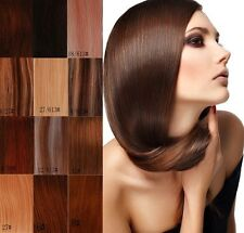 """15""""18""""20""""22""""24""""26""""Clip in Remy Real human hair extensions Straight 19 color"""