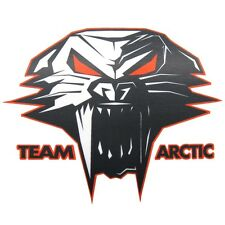 "Arctic Cat Cathead Decal Sticker - Orange / Black - 3"" 6"" 12"" - 5239-72_"