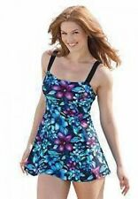 7214    PLUS SIZE 1 Pc Multi Color Swimsuit Assorted Sizes Available