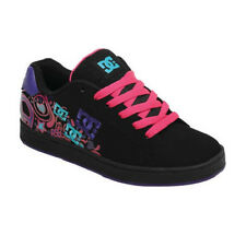 DC  PIXIE DOODLE Womens Skate Shoes (NEW w/ FREE SHIP) Black - Crazy Pink - Blue