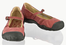 KEEN 1008623 WOMENS NEW DELANCEY MARY JANE STRAP LEATHER SHOES US W'S 7