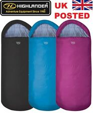 HIGHLANDER SCOTLAND SLEEPHAVEN SLEEPING BAG XL EXTRA WIDE LARGE DOUBLE 3 COLOURS