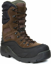 Rocky Blizzard Stalker Pro Waterproof Insulated 1200 Brown Steel Toe Boots 7465
