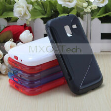 S Line TPU Gel Silicone Soft Case Back Cover for Samsung Galaxy Ace II 2 i8160