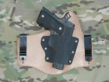 1911 Commander/Officer Hybrid IWB holster (with Horse Hide Option)